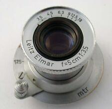 LEICA Elmar 3,5/50 M39 LTM 50 50mm F3,5 collapsible versenkbar adapt. M A7 20