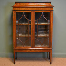 Victorian Antique Cabinets Display Cabinets