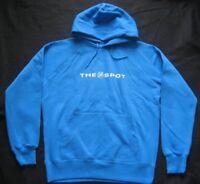 Hoddie Sweatshirt Pullover mit Kapuze Tasche blau M oder L The Spot
