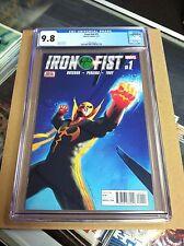 Iron Fist #1 2017.First printing.CGC 9.8