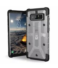UAG Samsung Note 8 Plasma Feather-Light Rugged Ice Military Drop Case Clear New