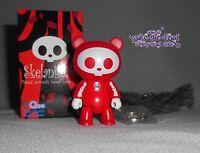 2010 SKELANIMALS QEE artist series * CHUNGKEE *  RED figure urban vinyl