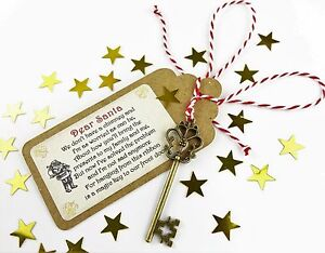 SANTA MAGIC KEY Father Christmas Eve Box Fillers Tradition No Chimney handmade 2
