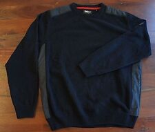 """Barbour Land Rover """"Crook"""" Lambswool Sweater - Crew Neck (Mens XL)"""