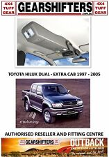 OUTBACK ACCESSORIES ROOF CONSOLES 4X4 TOYOTA HILUX DUAL & EXTRA CAB UTES 97 - 05