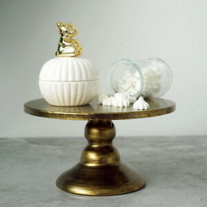 """Round Cake Stand Metal Cupcake Wedding Event Party Display Tower Plates 8"""""""