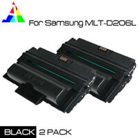 2 Pack Compatible MLT-D206L Black Toner Cartridge For Samsung SCX-5935FN 5935