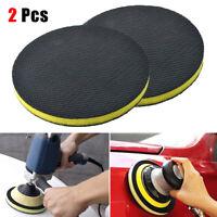 "2PCS 6"" Clay Bar Polishing Waxing Buffing Disc Pad Auto Car Wash Cleaning Sponge"