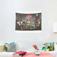 Dogs Playing Poker Tapestries, Dogs Playing Poker Wall Tapestry