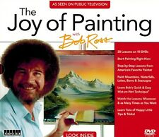 New! PBS The Joy of Painting with Bob Ross 10 DVD Set As Seen on Public TV