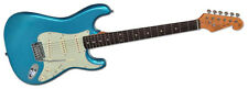 SX Ves62 LPB 62 Vintage Style SSS Electric Guitar Lake Placid Blue Finish
