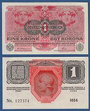 ÖSTERREICH / AUSTRIA 1 Krone  1916 (1919)  UNC  P.49