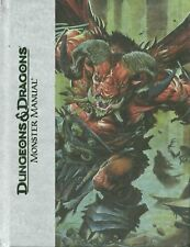 DUNGEONS & DRAGONS MONSTER MANUAL 4th Edition Deluxe - Hardcover 2008