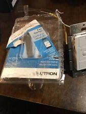 Lutron Pd-6Wcl-Wh-R Fan Control Switch - White
