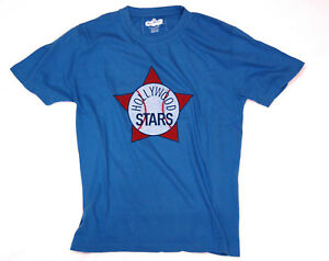 Hollywood Stars Baseball Retro Design T-Shirt By Red Jacket