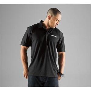 Kawasaki Social Polo Shirt Black Men's