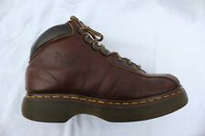 Dr Doc Martens Air Wair Mens USA 10 Brown Leather Ankle Boots 8346/51 England 9