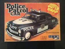 MPC POLICE PATROL CAR MODEL CAR 1:25 SCALE KIT# 1-3306