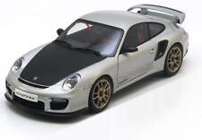 Porsche 911 997 Gt2rs 2010 silver Aa77961 1 18 Autoart