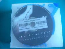 DVD  boitier slim HALLOWEEN RESURRECTION (b6)