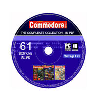 Commodore Format Magazine Complete Collection All Issues in PDF - DVD Amiga C64