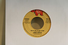 """JIMMY RUFFIN - HOLD ON TO MY LOVE    -  VINYL 7"""" SINGLE 45 D"""