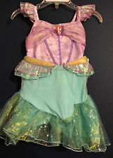 New Disney Store ARIEL Little Mermaid Costume Dress Infant 3-6 Months