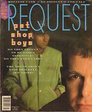 FEB 1991 REQUEST vintage music magazine PET SHOP BOYS