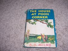 THE HOUSE AT POOH CORNER by A. A. Milne/HCDJ/Childrens/Literature/Humor