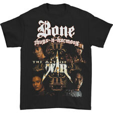 Authentic BONE THUGS-N-HARMONY Art of War Slim-Fit T-Shirt Black NEW