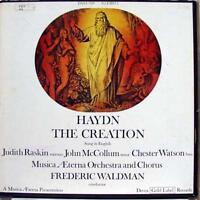 Waldman Haydn - The Creation 2 LP VG+ DXSA 7191 Vinyl Record Gold Label