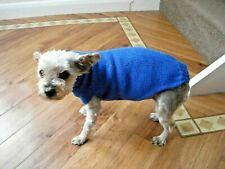 Hand Knitted Dog Coat/Sweater/Jumper for Small Dog 5-6 kg New Assorted Colours