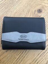 Genuine Kia Motor Group Premium Leather Document Service History Wallet/case OEM