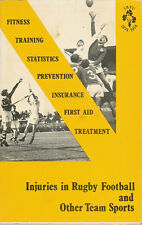 """Injuries in Rugby Football and Other Team Sports"" compiled by Bob O'Connell"