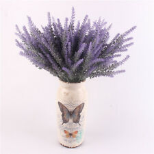 Artificial Flower Romantic Provance Lavender Flower Silk Decorative Plant Home