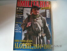 ** Militaria magazine n°221 Goums marocains en Italie / Officier Belge en 14