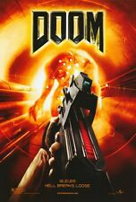 """DOOM Movie Poster [Licensed-NEW-USA] 27x40"""" Theater Size (Video Game)"""