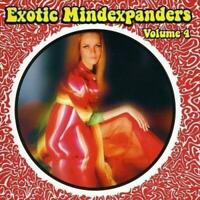 EXOTIC MIND EXPANDERS Vol. 4 - V/A (New & Sealed) CD Rare Psych Mindexpanders