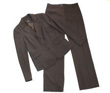 ESPRIT Business Hosen Anzug Damen 40 dunkelbraun Blazer Hose elegant wie NEU #68