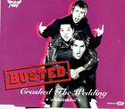 BUSTED Crashed the wedding 3 TRACK CD + POSTER