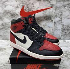 """Nike Air Jordan 1 Og High """"Bred Toe"""" Mens Size 12"""