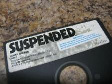 Suspended for Atari 400/800/XL, XE Game Floppy Disk