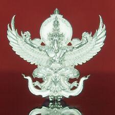 Thai Amulet KochaPaksa Mixed Elephant & Krut Garuda Real Silver Wat PaArJiang