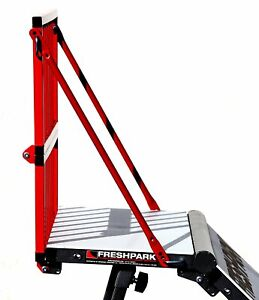 New Freshpark Safety Rail Red Large with durable steel frame