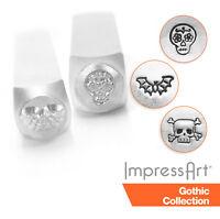 Impressart Skull And Bones Design Stamp 6mm