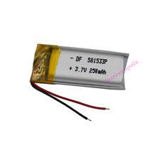 3.7 V 250 MAH Li polimeri celle al LITIO per GPS MP3 BLUETOOTH AURICOLARE PENNA 581533