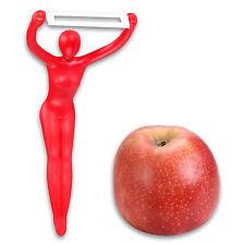 Vegetable Peeler Peeler Asparagus Peeler Peeler Lady in Red with Ceramic Blade