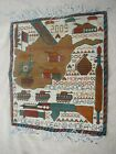 CLASSIC HAND MADE AFGHAN WAR RUG HAND KNOTTED 100% WOOL SHOWING WEAPONS , TANKS