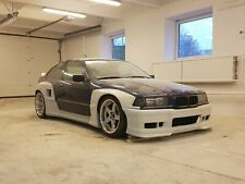 Bmw E36 Compact Pandem Style Wide Body Kit