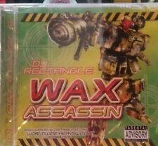 DJ RECTANGLE WAX ASSASSIN CD